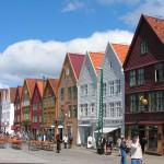 Bryggen, Bergen, Noorwegen