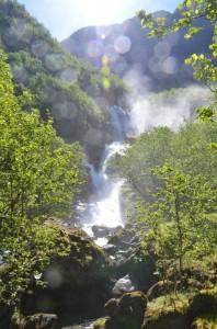 Voorjaar in Noorwegen