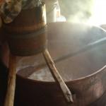 Workshop brunost koken
