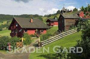 Skåden gard Noorwegen
