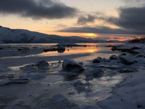 Winterlicht op de Vesterålen