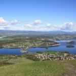 Dronningens utsikt, Olavspad, Noorwegen, Fru Amundsen