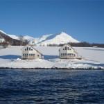 Lyngen fjordbuer, Nordmannvik, Noorwegen, Fru Amundsen