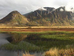 Herfst op de Lofoten, Noorwegen, Fru Amundsen