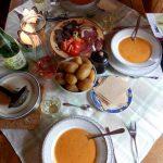 pelgrim, maaltijd