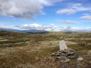 Dovrefjell, Olavspad, Noorwegen, Fru Amundsen