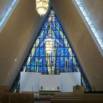 Ishavskatedral, Tromsø, Noorwegen, Fru Amundsen