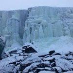 Bevroren waterval, Gargia