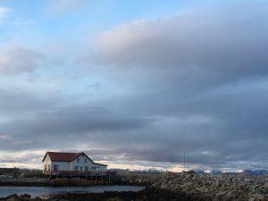 Kvalnesbrygga, Andoya, Vesteralen, Noorwegen