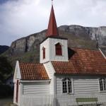 Staafkerk Undredal, Noorwegen