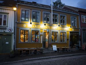 pelgrim, Trondheim, Baklandet Skydsstation